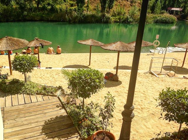¡Refréscate en las zonas de baño repartidas por Cuenca!